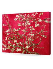 DecorArts- Red Almond Blossom Tree, Vincent Van Gogh Art Reproduction