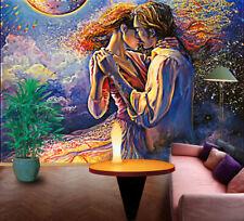 3D Dancing Couple 3855 Wallpaper Decal Dercor Home Kids Nursery Mural Home