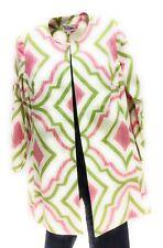 3 Sisters Jacket Small 1781 3S715 Diamond Women's Long Tunic Coat American Made