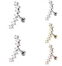 Tragus Piercing - Barbell Piercing Ranke Opal Zirkonia Ohrpiercing Helix #523