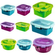 Lunchbox + Besteck & Zubehör Curver Essen Arbeit Schule Brotdose Stulle Box NEU