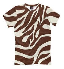 Choco zebra t-shirt - wild animal T-Shirt cool style tee print zoo safari