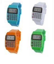 Kids Digital Wrist Watch Boys Girls Time Date & Calculator Wristwatch W05