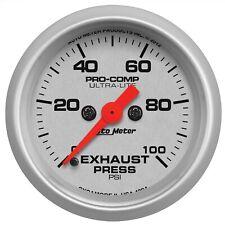 AutoMeter 4394 Ultra-Lite Electric Boost Controller Gauge