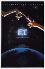 ET THE EXTRA TERRESTRIAL VINTAGE MOVIE POSTER  FILM A4 A3 ART PRINT CINEMA