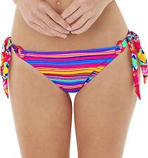 LEPEL Swim le157172 Sun Kiss Slip Bikini Lato Cravatta in Rosa/Multi