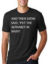 Funny Math T-shirt Back To School Tee Shirt