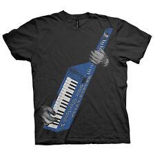 Keytar T-shirt. Limited Edition Print Graphic.