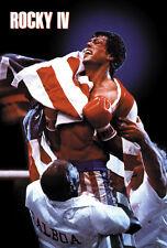 Rocky IV (1985) Sylvester Stallone movie poster print
