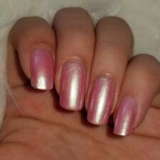 Iridescent Pearl Pink Shiny Nail Polish 5-free Vegan Cruelty-Free Hand-mixed