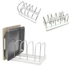 Adjustable Kitchen Bakeware Organiser Rack Baking Tray Cutting Board Storage