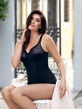 Anita Nice Korselett Comfort Body Grau ohne Bügel Formend Grey Cup B-E Dessous