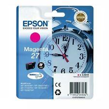 C13T27034010 Magenta Printer Ink Cartridge Alarm Clock Epson 27 Series
