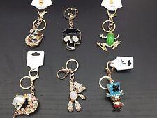 3D Crystal Diamond Keychains