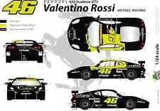 [FFSMC Productions] Decals 1/24 Ferrari F-430 Scuderia GT Valentino Rossi