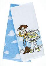 Disney Parks Toy Story Lilo & Stitch The Little Mermaid Mickey Kitchen Towel Set