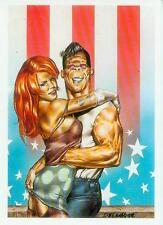 Gaetano Liberatore Postcard: Ranx (with Redhead) (France, 1985)