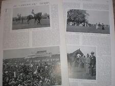 Photo article Volodyovski wins Epsom Derby 1901 horse racing