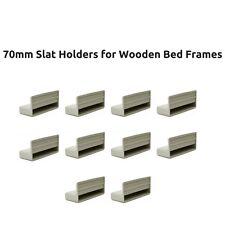 70mm sostituzione letto singolo a doghe titolari/Tappi per le parti cornici in legno letto grigio