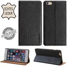 LUXURY Custodia Protettiva in Pelle per Samsung s6 s7/iPhone 6 6s 7 Cellulare Case Cover Borsa