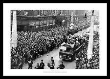 Sunderland AFC 1937 FA Cup Final Team Open Top Bus Photo Memorabilia (824)