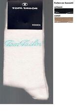 BAUMWOLLMIX   1 Paar weiche Socken, div. Farben + Größen  *TOM TAILOR*