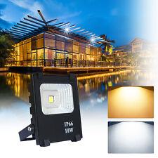 10W LED Fluter Außen Strahler Flutlicht Scheinwerfer Gartenlicht Außenlicht IP66