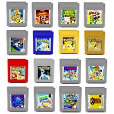 Gameboy Spiel Pokemon rot gelb blau silber gold Super Mario Land Zelda Tetris GB