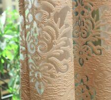 Curtains European Window Treatments Translucidus Jacquard Woven Home Decorations