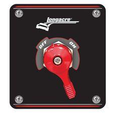 Longacre Race / Rally / Performance Battery Master Switch - Black Panel