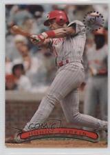 1996 Topps Stadium Club #271 Barry Larkin Cincinnati Reds Baseball Card