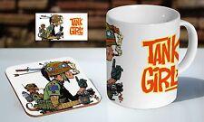 Tank Girl Awesome Tea / Coffee Mug Coaster Gift Set