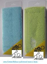 Cycling Face Towel 100% cotton 30cm x 30cm Sport  gym Jogging Golf Hiking Bike