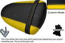 BLACK&YELLOW CUSTOM K7 K8 FITS SUZUKI GSXR 1000 07-08 REAR PILLION SEAT COVER