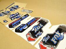 Fox Racing Vanilla Fork Stickers Decals Genuine Various Models Mtb Xc Am