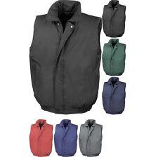 Mens Result Padded Body Warmer Heavy Waterproof Jacket Coat Top
