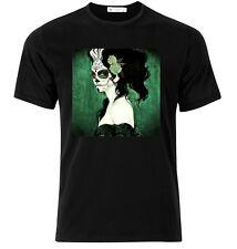 El Dia De Los Muertos IX  - Graphic Cotton T Shirt Short & Long Sleeve