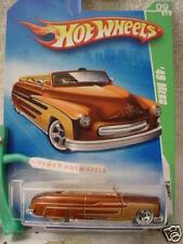 2009 i Hot Wheels #9 TREASURE T-HUNT☆'49 MERC ☆BROWN☆1949 Mercury