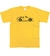 Da Uomo Schizzo originale Porsche 911 Carrera Cabrio 996 T Camicia ~ S - 5XL