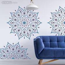 Rohan Mandala Indian Wall STENCIL Furniture Fabric Craft The Stencil Studio