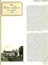 LES GRANDS VINS DE BORDEAUX / CENTENAIRE DUCLOT par PARKER = 1986