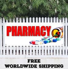 PHARMACY Advertising Vinyl Banner Flag Sign Prescription Drugs Deliver Medical