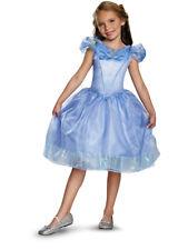 Childs Cinderella Disney Movie Classic Girls Costume Dress