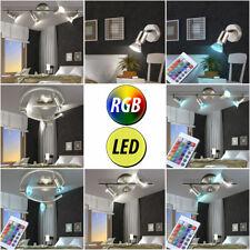 LED Cubierta De La Pared Lámparas Regulable Salón RGB CONTROL REMOTO FOCOS