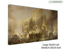 Lona S4 la batalla de Trafalgar por William Clarkson Stanfield Zz