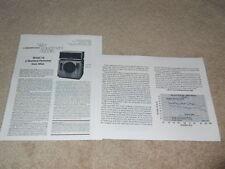 Altec Model 19 Studio Speaker Review, 1978, Full Test