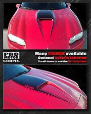 Chevrolet Camaro 1998-2002 SS Manta Ray Hood Scoop Stripe Decal (Choose Color)