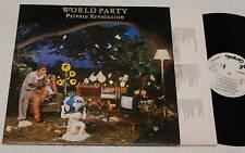 WORLD PARTY:LP-1°PRESS ITALY PROMO+TESTI NM