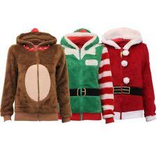 HOMBRE MUJER suéteres de Navidad Temporada Saludos Novedad Elfo Papá Noel