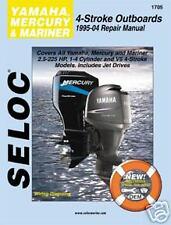 SELOC 1705 MERCURY MARINER 4 STROKE REPAIR SERVICE MANUAL 1995-2004  2.5 to 225